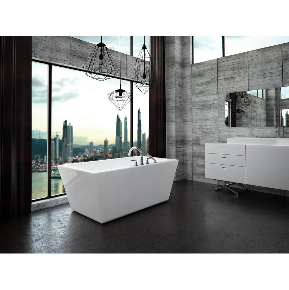 Salle de bain Neptune Rouge Canada  Lacroix Décor